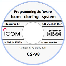Icom CS-V8 Cloning Software Revision 1.0 for IC-V8 and IC-T3H Download