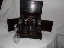 cave à liqueur Napoléon III &  cristal