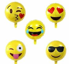 Party : Emoticons Balloon Party Decor Set 12 pcs