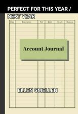 LOW PRICE Accounting Ledger Simple Cash Book Accounts Bookkeeping Journal