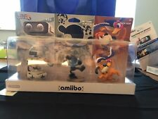 Nintendo Retro 3 Pack Amiibo (ROB, Mr. Game & Watch, Duck Hunt) - In Box!