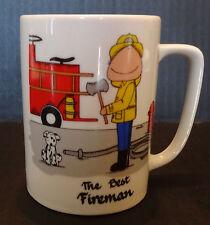 The Best Fireman Mug  Cowboy Chuck Co (Firefighter)