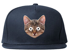 Kings Of NY Crazy Cats Printed Snapback Hat Kittens Funny