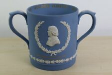 Ultra Rare Wedgwood Jasperware Blue Very Large City of Stoke Loving Mug no 26/50