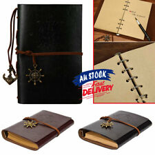 Notebook Cover Travel Sketchbook Classic Diary Leather Retro AU Journal