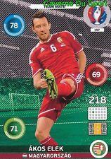 197 AKOS ELEK MAGYARORSZAG HUNGARY CARD ADRENALYN EURO 2016 PANINI