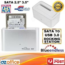 "USB 3.0 SATA Docking Station 2.5"" 3.5"" HDD SATA Hard Drive Dock Reader Enclosure"