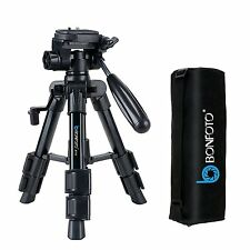 BONFOTO B71T Portable Table-Top Tripod Pan Head Universal for Canon DSLR Camera
