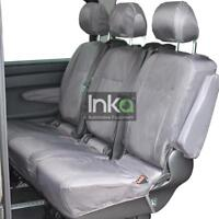 Mercedes Vito & V Class  Rear Inka Tailored Waterproof Seat Covers Grey