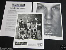 LIMP BIZKIT 'RESULTS MAY VARY' 2003 PRESS KIT--PHOTO