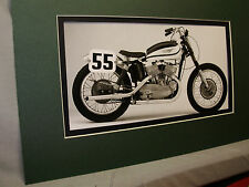 1957 Harley Davidson KR USA Motorcycle Exhibit from Automotive Museum