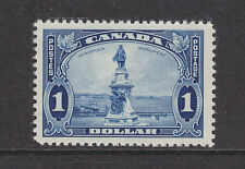 Canada Sc 227 MNH. 1935 $1 Champlain Monument F-VF