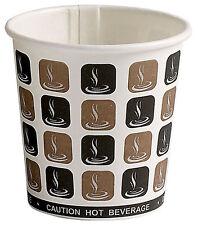 50 x Disposable Paper 4oz Tea / Espresso Coffee Cups [5060026844045]