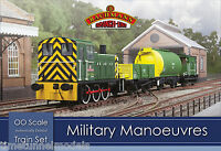 Bachmann 30-130 Military Manoeuvres OO/1:76 Scale Train Set (Hornby Compatible)
