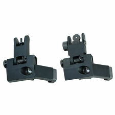 Front and Rear Flip Up Rapid Transition Backup Iron Sight 45 Degree Offset