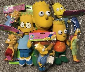 The Simpsons Doll Figure Lot