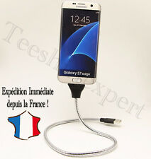 Chargeur Flexible Stand Up Câble Indestructible adaptateur type C Samsung Sony