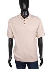 *TopMan Mens Polo Shirt Cotton Grey Tee size L