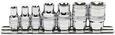ORIGINAL Draper Set Draper tx-estrella Enchufe en un Rail (7 piezas) 34412