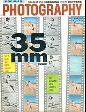 Popular Photography Magazine August 1958 35mm Issue VG No ML 022117nonjhe