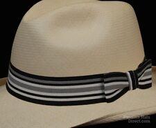 Hat band 52 -Midnight Waves - Men Ladies Sun Panama Hat fedora Replacement strap