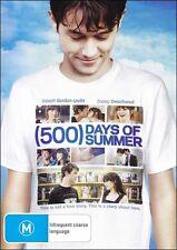 (500) DAYS OF SUMMER (Joseph GORDON-LEVITT Zooey DESCHANEL) Romantic DVD NEW R4