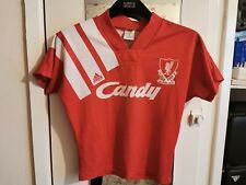 Liverpool FC Candy Shirt 91-92 Vintage Kids