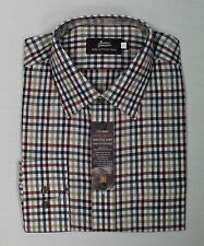 Marks and Spencer Men's Check Cotton Collared Casual Shirts & Tops