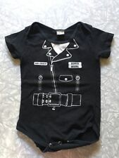 Sons of Anarchy One Piece Leather Biker Jacket Graphic Tee Costume Infant Sz M