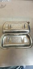 VW Aircooled SCAT stainless rocker covers with welded breathers