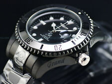 NEW Invicta Men's CHROMATIC SERIES 47mm Grand Diver Automatic Triple Black Watch
