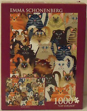 "Emma Schonenberg ""Cat Collage"" 1000-Piece Jigsaw Puzzle"