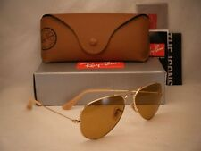 Ray Ban 3025 Aviator Gold w Photochromic Brown Lens (RB3025 90644I 55 mm size)
