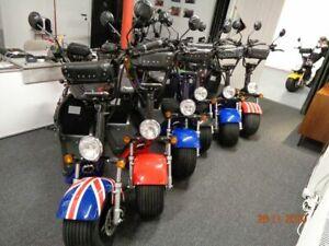 Elektro Chopper Harley für 2 Personen