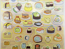 Cute Japanese Sumikko Gurashi stickers! San-X kawaii sushi bar bento box sticker