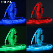 5m 600 LED strip Tape Light SMD 5050 RGB RGBW RGBWW waterproof Decor rope lamp