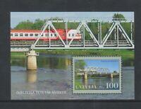 Latvia - 2007, Bridges sheet - MNH - SG MS707