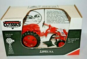 """Country Classics 1/16 Scale AGCO Allis-Chalmers """"G""""  Tractor w/ Plow NEW IN BOX"""