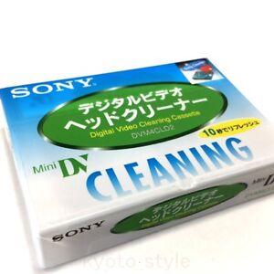 SONY Mini Dv Kopf Reiniger DVM4CLD2 Reinigung Kassette Japan
