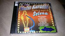 SELENA Multi Karaoke Canta lo mejor de cd Rare Mexican release *SEALED*