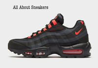 "Nike Air Max 95 ""Black Laser Orange"" Men's Trainers Limited Stock All Sizes"
