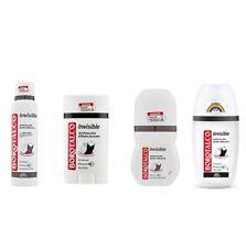 BOROTALCO ROBERTS Invisible deo test paket set roll-on spray stick vapo