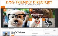 Pet Dog Blog Website dogfriendlydirectory.com DA27, 127+ Links, Domain For Sale