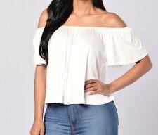 Fashion Nova Off Shoulder Top- New