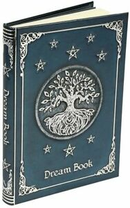 Nemesis Now Embossed DREAM BOOK Tree Of Life Wicca Pagan Notebook Journal 17cm