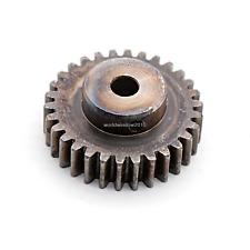 1.5Mod 30T 45# Steel Spur Pinion Gear 1.5M30T Bore 6mm Outer Diameter 48mm X 1