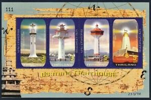 Thailand Stamp 2019 Lighthouse SS