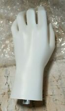 Less Than Perfect Mn Handsf White Left Female Mannequin Hand Jewelry Display