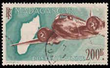 Scott # C53 - 1946 - ' Plane Over Map of Madagascar '