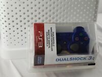 Sony DualShock 3 Wireless Controller for Playstation 3 PS3 Blue OEM New Rare